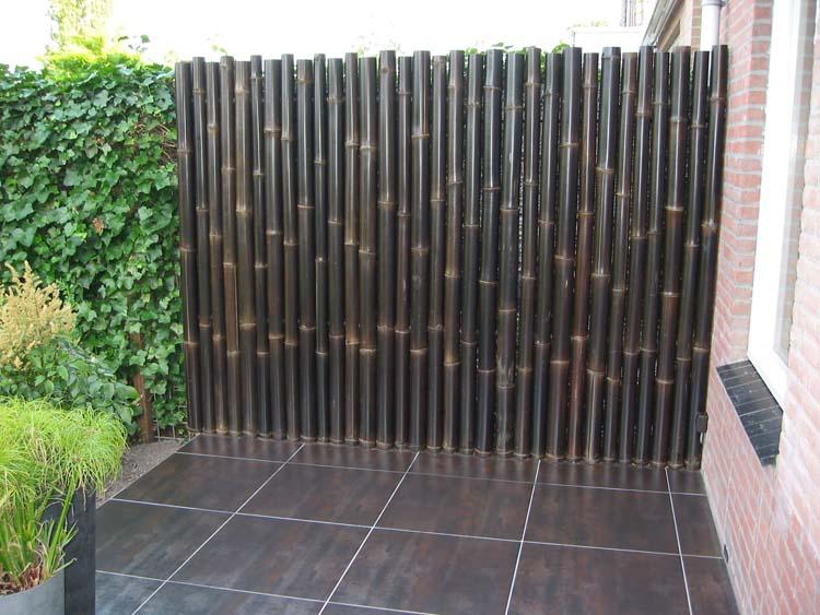 Bamboe Schutting 2016